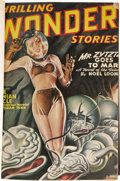 Pulps:Science Fiction, Wonder Stories (Pulp) Bound Volumes Group (Standard, 1929-50). Theseries represented here includes the titles Wonder Scie... (Total:23 Items)