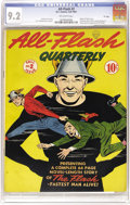 """Golden Age (1938-1955):Superhero, All-Flash #2 """"D"""" Copy pedigree (DC, 1941) CGC NM- 9.2 Off-white pages. Before fandom at large knew that the """"D"""" copies were ..."""