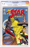 """Golden Age (1938-1955):Superhero, All Star Comics #56 Davis Crippen (""""D"""" Copy) pedigree (DC, 1950) CGC NM 9.4 Off-white to white pages. This is the second-to-..."""