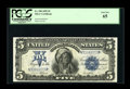 Large Size:Silver Certificates, Fr. 280 $5 1899 Silver Certificate PCGS Gem New 65....