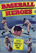 Golden Age (1938-1955):Non-Fiction, Baseball Heroes #nn (Fawcett, 1952) Condition: VF+. This one-shotfeatured a Babe Ruth and Walter Johnson photo cover spotli...