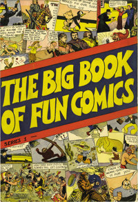Big Book of Fun Comics #1 Lost Valley pedigree (DC, 1936) Condition: Qualified VF/NM