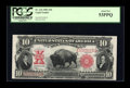 Large Size:Legal Tender Notes, Fr. 122 $10 1901 Legal Tender PCGS About New 53PPQ....