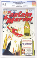 """Golden Age (1938-1955):Superhero, Captain Marvel Adventures #96 Davis Crippen (""""D"""" Copy) pedigree (Fawcett, 1949) CGC NM 9.4 Off-white to white pages. Every F..."""