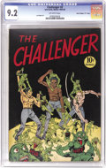 "Golden Age (1938-1955):Non-Fiction, Challenger #2 Davis Crippen (""D"" Copy) pedigree (InterfaithCommittee, 1945) CGC NM- 9.2 Off-white pages. This is the only c..."