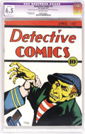 Platinum Age (1897-1937):Miscellaneous, Detective Comics #2 (DC, 1937) CGC Apparent FN+ 6.5 Slight (A)Off-white pages. This second issue is even tougher to find th...