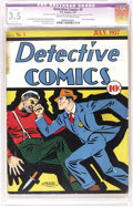 Platinum Age (1897-1937):Miscellaneous, Detective Comics #5 (DC, 1937) CGC Apparent VG- 3.5 Slight (A) Cream to off-white pages. A paltry three copies of this book ...