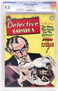 """Golden Age (1938-1955):Superhero, Detective Comics #133 Davis Crippen (""""D"""" Copy) pedigree (DC, 1948) CGC VF/NM 9.0 Off-white to white pages. The yellow surfac..."""