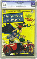 Golden Age (1938-1955):Superhero, Detective Comics #151 (DC, 1949) CGC VF/NM 9.0 Off-white pages. Pow-Wow Smith, Indian Lawman, a long-running backup feature ...