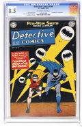 Golden Age (1938-1955):Superhero, Detective Comics #164 (DC, 1950) CGC VF+ 8.5 Off-white to white pages. Lots of previously unknown information on the Bat-Sig...