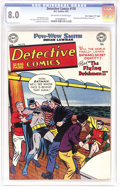 """Golden Age (1938-1955):Superhero, Detective Comics #170 Davis Crippen (""""D"""" Copy) pedigree (DC, 1951) CGC VF 8.0 Off-white to white pages. Win Mortimer is cred..."""