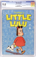 """Golden Age (1938-1955):Cartoon Character, Four Color #74 Marge's Little Lulu - Davis Crippen (""""D"""" Copy) pedigree (Dell, 1945) CGC VF/NM 9.0 Cream to off-white pages. ..."""