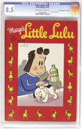 """Golden Age (1938-1955):Humor, Four Color #165 Marge's Little Lulu - Davis Crippen (""""D"""" Copy) pedigree (Dell, 1947) CGC VF+ 8.5 Off-white to white pages. A..."""