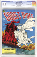 "Golden Age (1938-1955):Western, Ghost Rider #2 Davis Crippen (""D"" Copy) pedigree (MagazineEnterprises, 1950) CGC VF+ 8.5 Cream to off-white pages. HeyFran..."