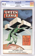 "Golden Age (1938-1955):Science Fiction, Green Lama #6 Davis Crippen (""D"" Copy) pedigree (SparkPublications, 1945) CGC VF+ 8.5 Off-white pages. This classic MacRab..."