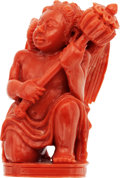 Estate Jewelry:Other , Coral Figurine. ...