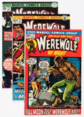 Bronze Age (1970-1979):Horror, Werewolf by Night Group (Marvel, 1972-76) Condition: AverageFN/VF.... (Total: 30 Comic Books)