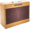 Musical Instruments:Amplifiers, PA, & Effects, 1954 Fender Twin Tweed Guitar Amplifier, Serial # 0518....