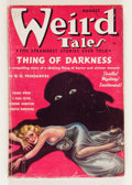 Pulps:Horror, Weird Tales - August '37 (Popular Fiction, 1937) Condition: VG+....