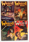 Pulps:Horror, Weird Tales Group (Popular Fiction, 1938-41) Condition: AverageVG.... (Total: 11 Items)