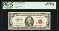 Small Size:Legal Tender Notes, Serial Number 39 Fr. 1550 $100 1966 Legal Tender Note. PCGS Gem New 65PPQ.. ...