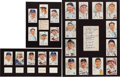 Autographs:Others, 1950's-60's Hall of Famers Signed Displays (3)....