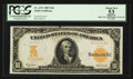 Large Size:Gold Certificates, Fr. 1171 $10 1907 Gold Certificate PCGS Apparent About New 53.. ...