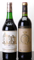 Red Bordeaux, Chateau Gruaud Larose . 1982 St. Julien Bottle (1). ChateauHaut Brion . 1982 Pessac-Leognan 3.5cm, lbsl... (Total: 2Btls. )