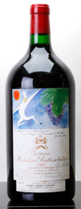 Red Bordeaux, Chateau Mouton Rothschild 1982 . Pauillac. bsl.Double-Magnum (1). ... (Total: 1 D-Mag. )