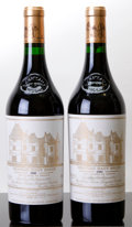 Red Bordeaux, Chateau Haut Brion 1989 . Pessac-Leognan. Bottle (2). ...(Total: 2 Btls. )
