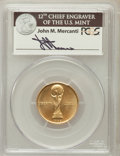 Modern Issues, 1994-W G$5 World Cup Gold Five Dollar MS69 PCGS. Ex: Signature ofJohn M. Mercanti, 12th Chief Engraver of the U.S. Mint. P...