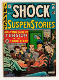 Golden Age (1938-1955):Horror, Shock SuspenStories #1 (EC, 1952) Condition: FN-....