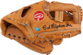 Baseball Collectibles:Others, 1990's Cal Ripken, Jr. Game Used Fielder's Glove....