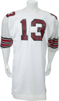 Football Collectibles:Uniforms, 1973 Don Maynard Game Worn St. Louis Cardinals Jersey and Jacket - Jersey Worn During Last Game of Maynard's NFL Career....