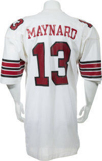 fc5dc7b25d40 1973 Don Maynard Game Worn St. Louis Cardinals Jersey and Jacket ...