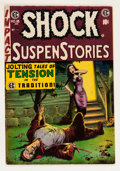 Golden Age (1938-1955):Horror, Shock SuspenStories #18 (EC, 1955) Condition: FN/VF....