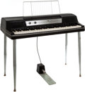 Musical Instruments:Keyboards & Pianos, 1970 Wurlitzer 200A Black Electric Piano, Serial # 121748. ...