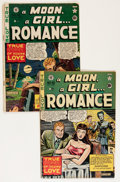 Golden Age (1938-1955):Romance, A Moon, A Girl... Romance #10 and 12 Group (EC, 1950).... (Total: 2 Comic Books)