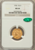 Indian Quarter Eagles: , 1926 $2 1/2 MS64 NGC. CAC. NGC Census: (3464/609). PCGS Population(2536/701). Mintage: 446,000. Numismedia Wsl. Price for ...
