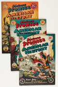 Golden Age (1938-1955):Non-Fiction, Picture Stories From American History #1-4 Group (EC, 1945-47)....(Total: 4 Comic Books)
