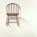 Texas:Early Texas Art - Modernists, ANCEL E. NUNN (American, 1928-1999). Chair on a Hook, 1986.Acrylic on masonite. 48 x 48 inches (121.9 x 121.9 cm). Sign...