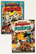 Golden Age (1938-1955):Non-Fiction, Picture Stories from Science #1 and 2 Group (EC, 1947) Condition:Average FN+.... (Total: 2 Comic Books)