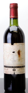 Red Bordeaux, Chateau Le Pin 1982 . Pomerol. bn, bsl, ll, scl, tl, tal,nc, ssos. Bottle (1). ... (Total: 1 Btl. )