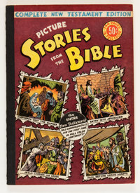 Picture Stories from the Bible Complete New Testament (50¢ Edition) (EC, 1946) Condition: FN/VF