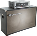 Musical Instruments:Amplifiers, PA, & Effects, 1970's Dynacord Bass King T Grey Guitar Amplifier Head andCabinet....