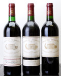 Red Bordeaux, Chateau Margaux. Margaux. 1983 Bottle (1). 1990 scl Bottle (1). 1996 scl Bottle (1). ... (Total: 3 Btls. )