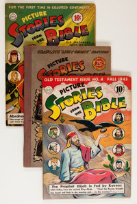 Picture Stories from the Bible Group (EC, 1940s).... (Total: 8 Comic Books)