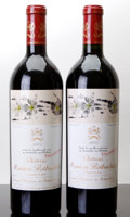 Red Bordeaux, Chateau Mouton Rothschild 2005 . Pauillac. Bottle (2). ...(Total: 2 Btls. )