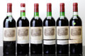 Red Bordeaux, Chateau Lafite Rothschild 1983 . Pauillac. 4ts, 2vhs, 1lbsl.Bottle (6). ... (Total: 6 Btls. )