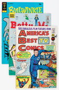 Silver Age (1956-1969):Humor, Comic Books - Assorted Silver Age Humor Comics Box Lot (Various Publishers, 1965-79) Condition: Average FN....